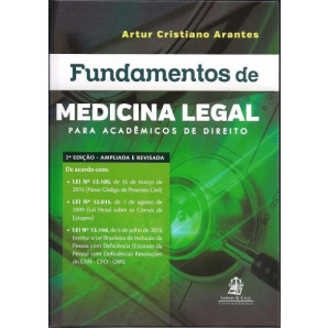 FUNDAMENTOS DE MEDICINA LEGAL PARA ACADEMICOS DE DIREITO